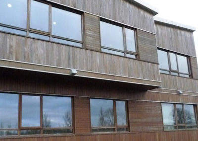BasswoodWoodSiding_AHECVeterinaryCentre